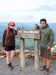 Mt Washburn Peak