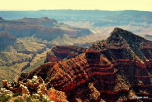 Grand Canyon and Colorado river from Cape Royal